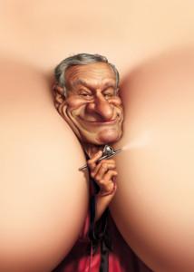 fredrickson-funny-art-hugh-hefner-playboy-caricature-humor